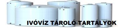 Ivóvíz tároló tartályok - pp. és pe. műanyagokból, rozsdamentes acélból!